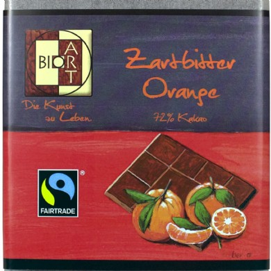Bio-Zartbitter Orange